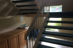 Remodel before stairs